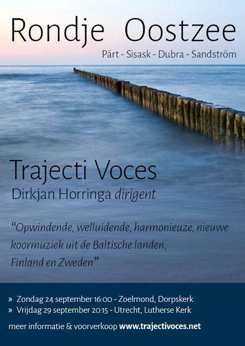 Trajecti Voces zingt Rondje Oostzee