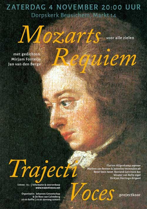 Mozarts Requiem voor alle zielen' in Culemborg, november 2017