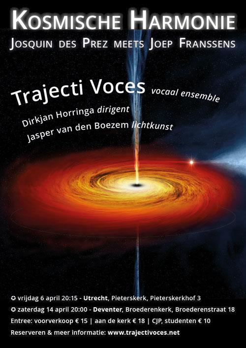 Trajecti Voces zingt 'Kosmische Harmonie'